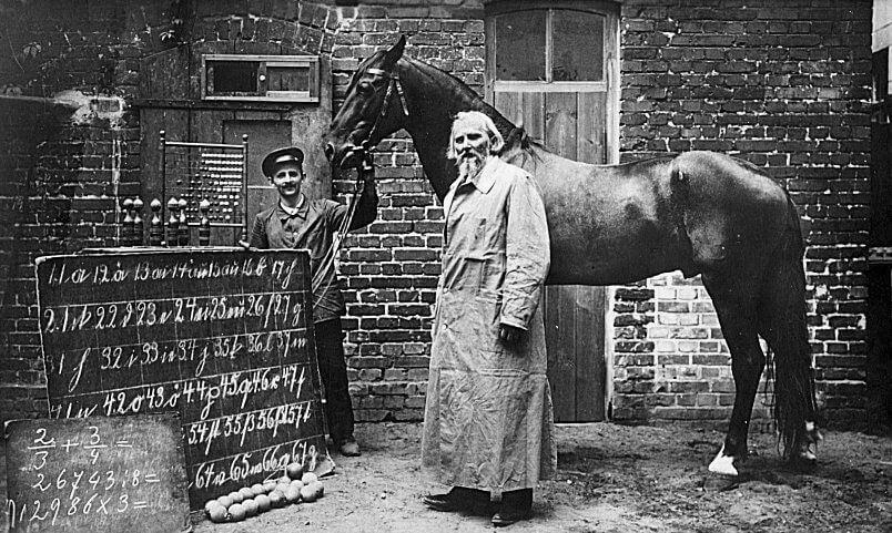 Wilhelm von Osten und der Kluge Hans