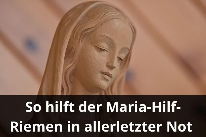 Maria Hilf Riemen vorgestellt